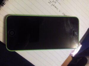 Mint condition I phone 5c 16g green