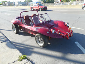 Dune BUGGY 1966 pour route/Hors route