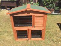 Dwarf rabbit or guinea pig house