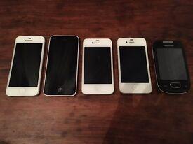 Joblot Smart Phones