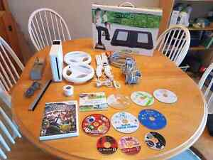 Used Wii + Accessories/Games