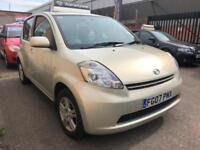 2007 Daihatsu Sirion SE 1.3 Petrol ** 1 Lady Owner From New ** Ideal First Car