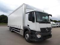 Mercedes-Benz ANTOS 2533L - Curtainside with tail lift - NEW PRE-REG