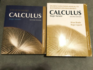 Single Variable Calculus Textbook