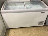 Capital glass top chest freezer