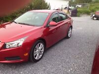2014 CHEVY CRUZE LEASE TAKE OVER