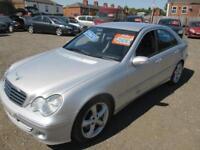 2006 MERCEDES BENZ C CLASS C220 CDI Avantgarde SE 4dr Auto