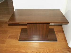 TV stand with turntable
