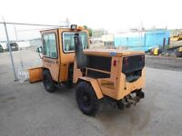 1987 Trackless MT4T Tractor w/wo Snow Plow Blade Mower Salter
