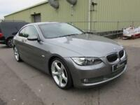 2007 07 BMW 3 SERIES 335 D SE AUTO 2 DOOR DIESEL