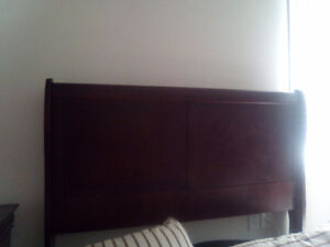 Double bed set with dresser n night stand