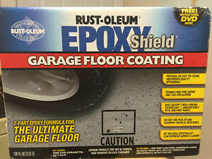Rust-oleum Epoxy Shield Garage Floor Coating (gray) New in Box