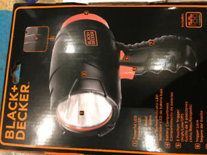 Flashlight Black +Decker Brand New