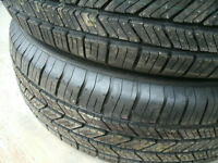 3 tires-235/65/R18 (2 brand new, never used) good year eagle LS