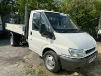2006 Ford Transit tipper flat bed dropside CHASSIS CAB Diesel Manual