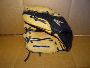 Boys Easton left handed ball glove, size 10 inch