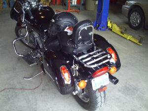 2004 honda shadow spirit 1100vt
