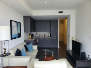 Now: Spacious Furnished 1 Bedroom + Enclosed Den @ Yonge & Front