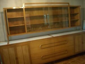 MID CENTURY TEAK DINING ROOM SUITE BY CANADIAN ARTISAN