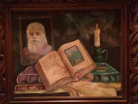 Peinture sur toile de Claude Rollin