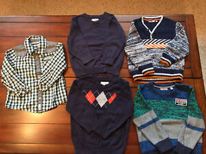Boys shirts 2T and 24-30 months