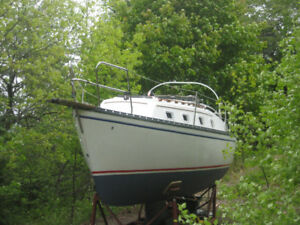 1981 Hunter 27' Sailboat For Sale!