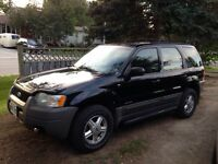 Great vehicle!! 2002 Ford Escape