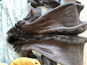 Nice and  new with tag winter coat. Real fur