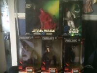 Boxed Star Wars figures for sale