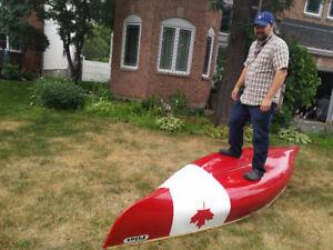 12' Demo PILOT (Prospector) canoe by Composite Creations