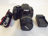Canon T3i with canon EF 28-80mm F3.5-5.6 lens