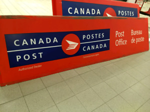 Canada Post signs