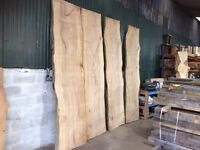 English beech Giant Timber Slabs table top bar man cave look 👀