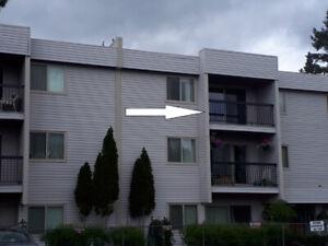 2 bedroom top floor condo in Logan Lake