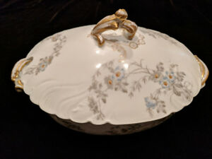 Antique Haviland Limoges Soup Tureen