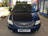 2003 Chrysler Voyager 2.5CRD SE 5 Service Stamps up to: 111231K - 15 Aug 17 MOT