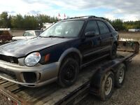 Parting out 2002 Subaru Outback WRX
