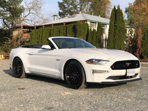 2019 FORD MUSTANG GT PREMIUM CONVERTIBLE FULLY LOADED