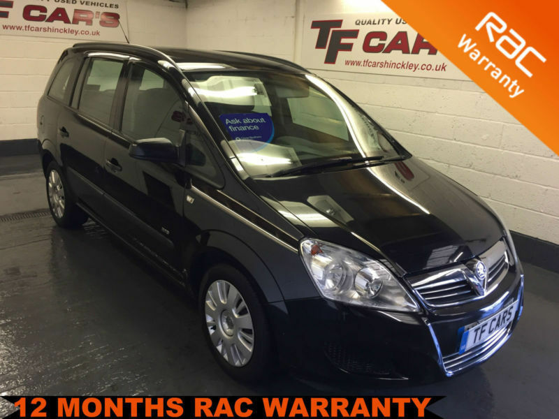 2008 08 Reg - Vauxhall/Opel Zafira 1.6i Life - FINANCE AVAILABLE FROM £19 P/W!