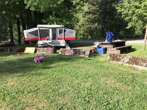Tent Trailer Rental Delivery, Set up, Pickup Included and Extras