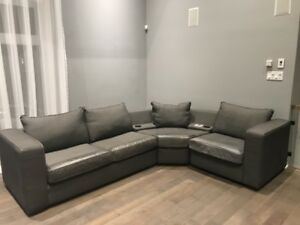 SOFA SECTIONELS GRIS