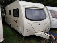 2007 Avondale Dart 525 4 Berth Fixed Bed Caravan