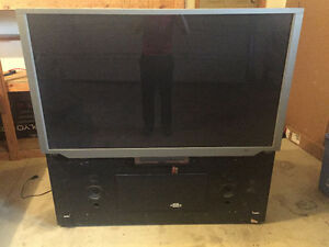 "65"" Rear Projection TV"