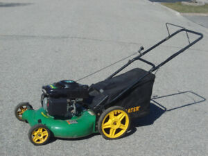 "DOWN SIZING MUST GO 21"" WEED EATER LAWNMOWER 3 IN 1 140CC + BAG!"