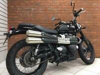 Triumph Street Scrambler Motorbike