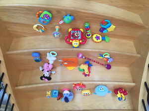 24 DISCOVERY TOYS FOR BABY for $8!
