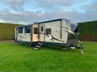 Rockwood 8336BH American Trailer Caravan Static 4 Slides Showmans 2 bedrooms