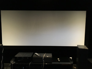 """Reduced: FS Elunevision 120"""" 4K Reference projector screen"""