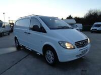 MERCEDES-BENZ VITO 2.1 CDi | COMPACT | 1 OWNER | ALLOY WHEELS | SIDE BARS | 2009