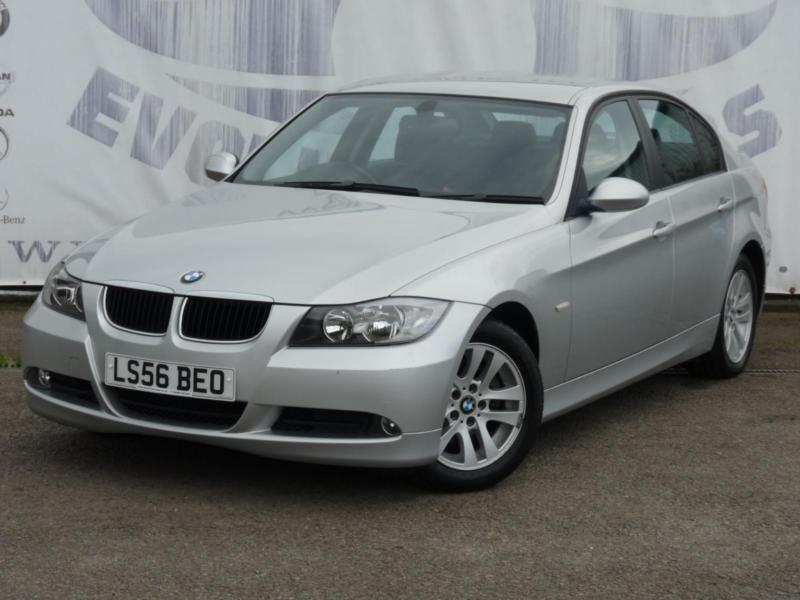 2006 BMW 3 SERIES 320D SE DIESEL 9 SERVICE STAMPS 16 INCH ALLOY WHEELS REAR PARK